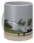 An F-15b Baz Of The Israeli Air Force Coffee Mug