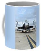 An Fa-18d Hornet On The Ramp At Marine Coffee Mug