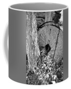 An Old Mill Stone Ely's Mill Roaring Fork Bw Coffee Mug