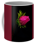Anemone Flower On Black Coffee Mug