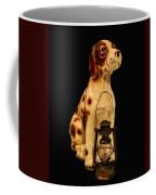 Antique Dog W Lantern Coffee Mug