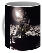 Apollo 17 Moon Landing Coffee Mug by Science Source