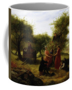 Apple Gathering Coffee Mug