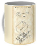 Apple Mouse Patent 1984 - Vintage Coffee Mug