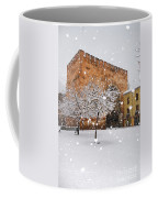 Arc Of Elvira While A Snowstorm Coffee Mug