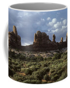 Arches National Park Sunrise Rock Formations  Coffee Mug