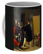 Aretino In The Studio Of Tintoretto Coffee Mug