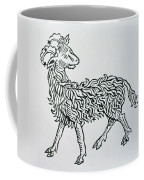Aries An Illustration From The Poeticon Coffee Mug
