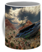 Artist Concept Of The Roswell Incident Coffee Mug