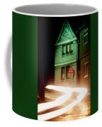 At Night In Thuringia Village Germay Coffee Mug