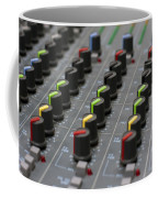 Audio Mixing Board Console Coffee Mug