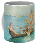 August Blue Coffee Mug
