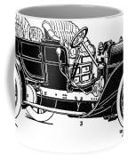 Automobile, 1907 Coffee Mug