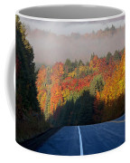 Autumn Colors And Road  Coffee Mug