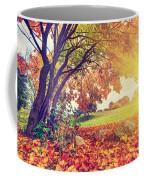 Autumn Fall Park Coffee Mug