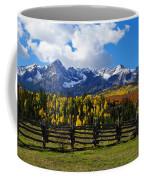 Autumn Fences Coffee Mug