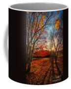 Autumn Shadows Coffee Mug