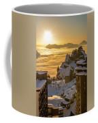 Avoriaz At Sunset Coffee Mug