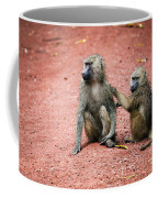 Baboons In African Bush Coffee Mug