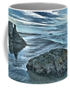 Bandon Beach Swirls Coffee Mug