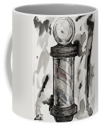 Barber Pole Coffee Mug by The Styles Gallery