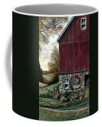 Barn Wreath Coffee Mug