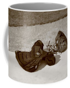 Baseball Glove And Chest Protector Coffee Mug by Frank Romeo