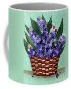 Basket Of Hyacinths  Coffee Mug