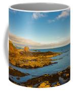 Bass Rock From Dunbar Coffee Mug