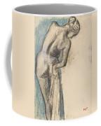 Bather Drying Herself Coffee Mug