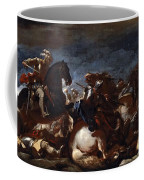 Battle Of Saint-quentin Coffee Mug