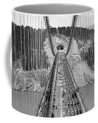 Bay Bridge Under Construction Coffee Mug