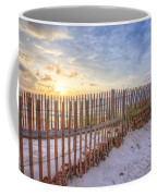 Beach Fences Coffee Mug