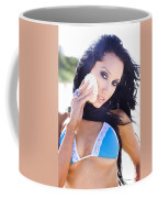 Beach Sightseeing Tour Coffee Mug