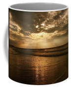 Beach Sunrise Coffee Mug by Nelson Watkins