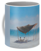 Beach Tent, 2012 Acrylic On Canvas Coffee Mug