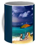 Beach Umbrella Coffee Mug