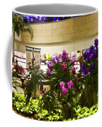 Beautiful Flowers Inside The Changi Airport In Singapore Coffee Mug