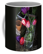 Beautiful Spring Tulips Coffee Mug by Edward Fielding