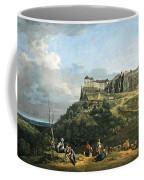 Bellotto's The Fortress Of Konigstein Coffee Mug