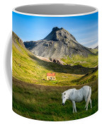 Below The Volcano Coffee Mug