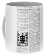Benjamin Rush (c1745-1813) Coffee Mug