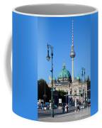 Berlin Cathedral And Tv Tower Coffee Mug
