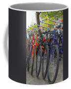 Bicycles In Amsterdam Coffee Mug