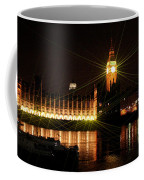 Big Ben And The House Of Parliment On The Thames Coffee Mug