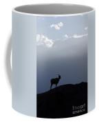 Big Horned Sheep Badlands National Park Coffee Mug