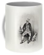 Bill Sykes And His Dog, From Charles Coffee Mug