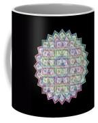 1 Billion Dollars Geometric Black Coffee Mug