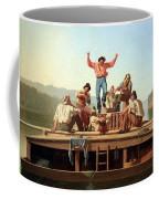 Bingham's The Jolly Flatboatmen Coffee Mug