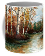 Birch Pond Coffee Mug